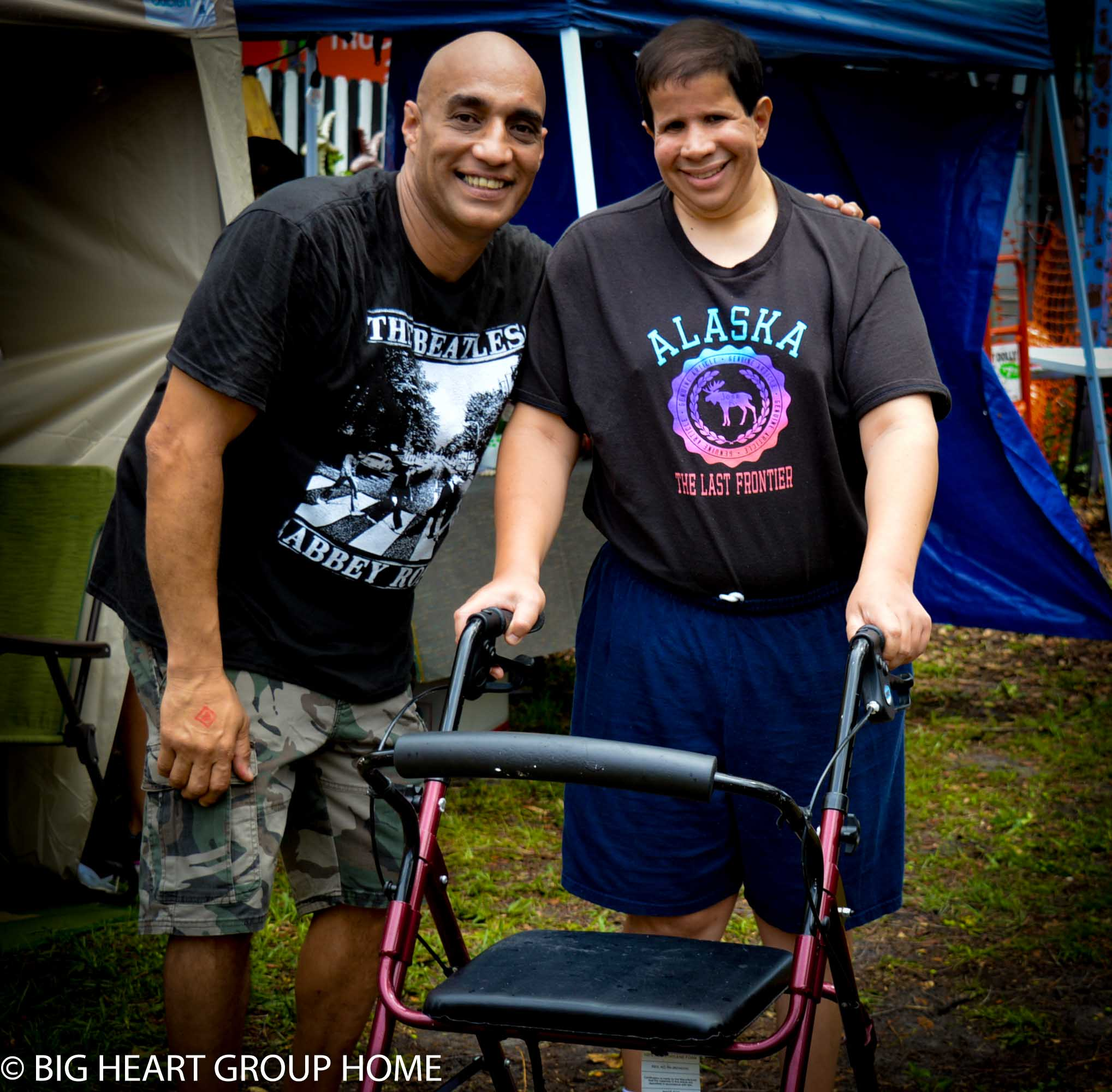 Robert Merced is an advocate for people with disabilities.